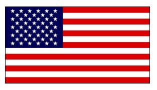 Drapeau des États-Unis d'Amérique.