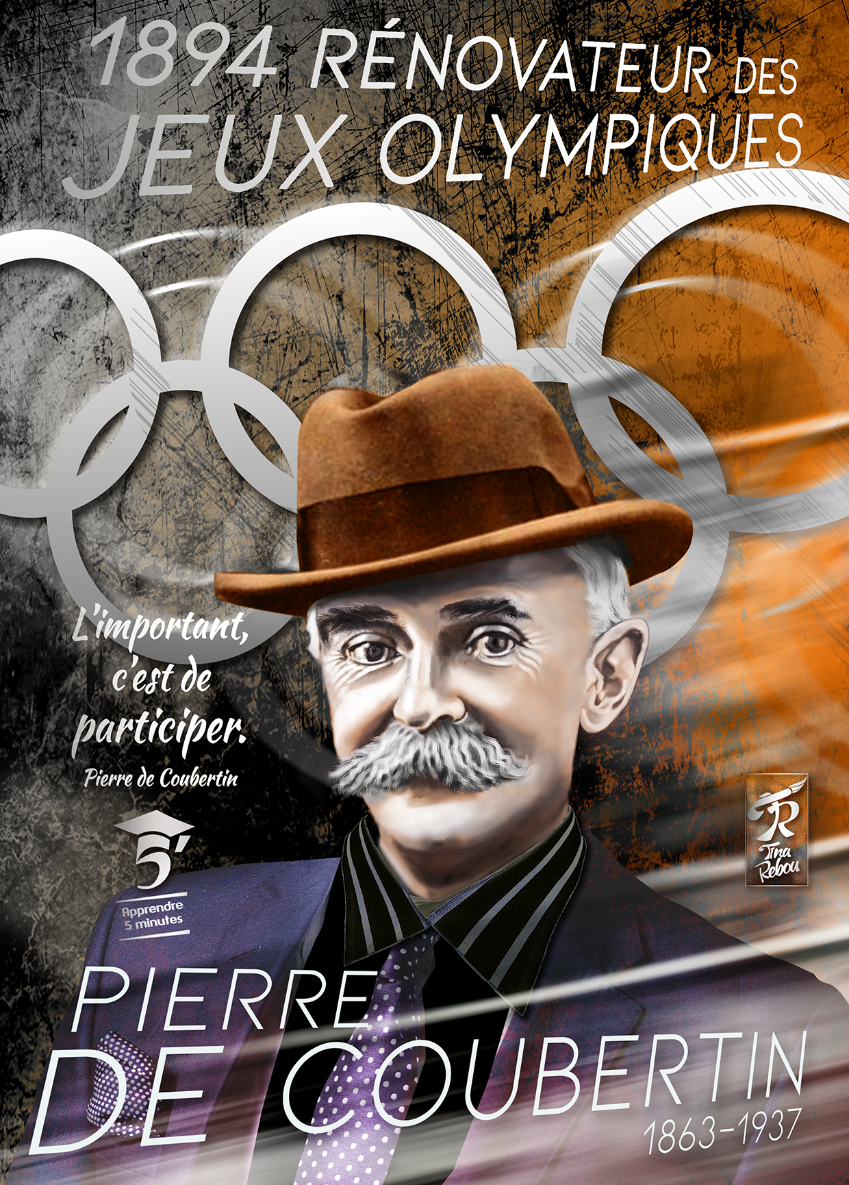 Pierre de Coubertin (1863-1937), Rénovateur des Jeux Olympiques.