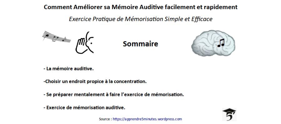 Comment améliorer sa mémoire auditive facilement et rapidement.